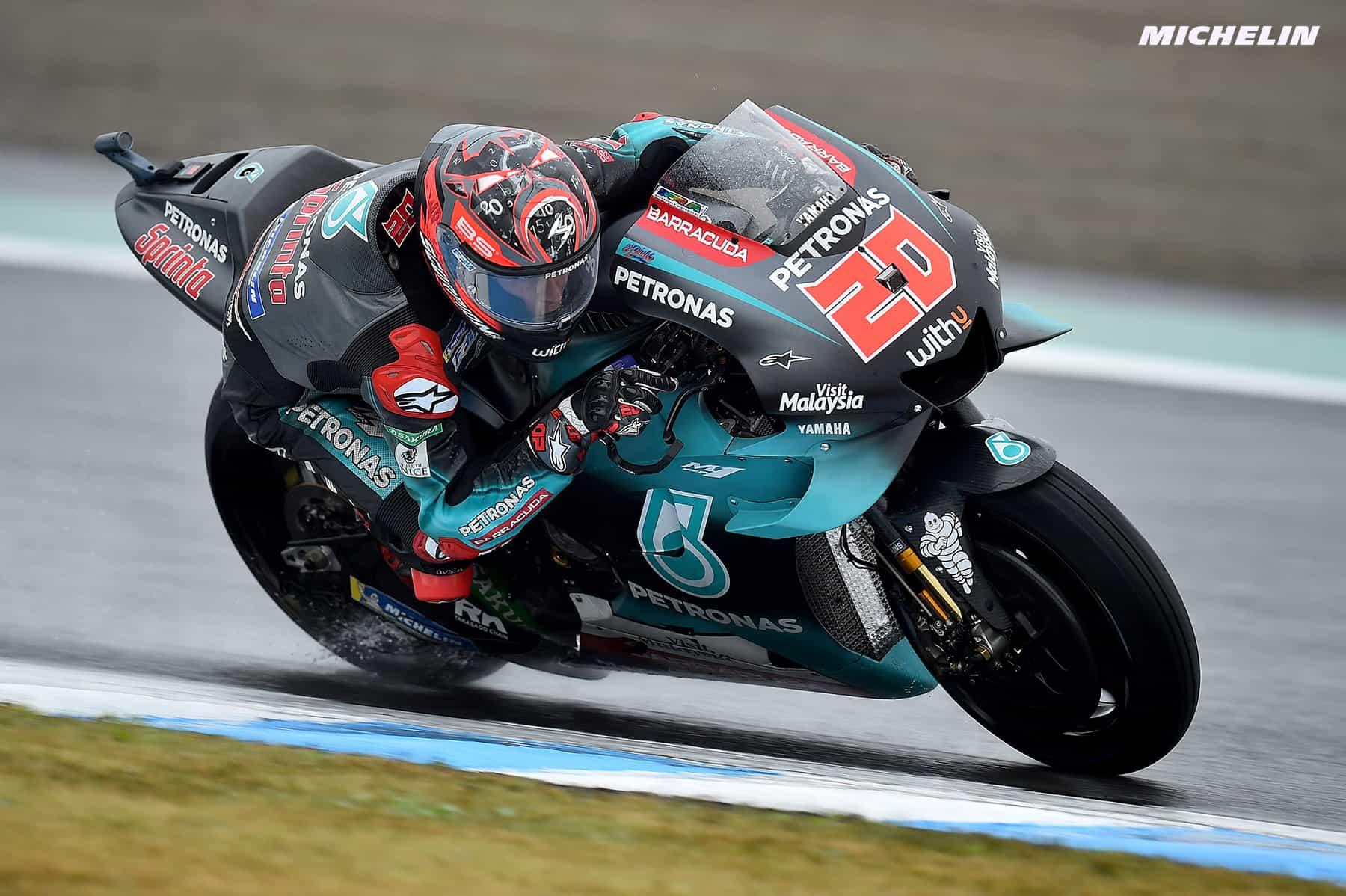MotoGP2019日本GP 予選3位クアルタラロ「1列目獲得は予想外だった」