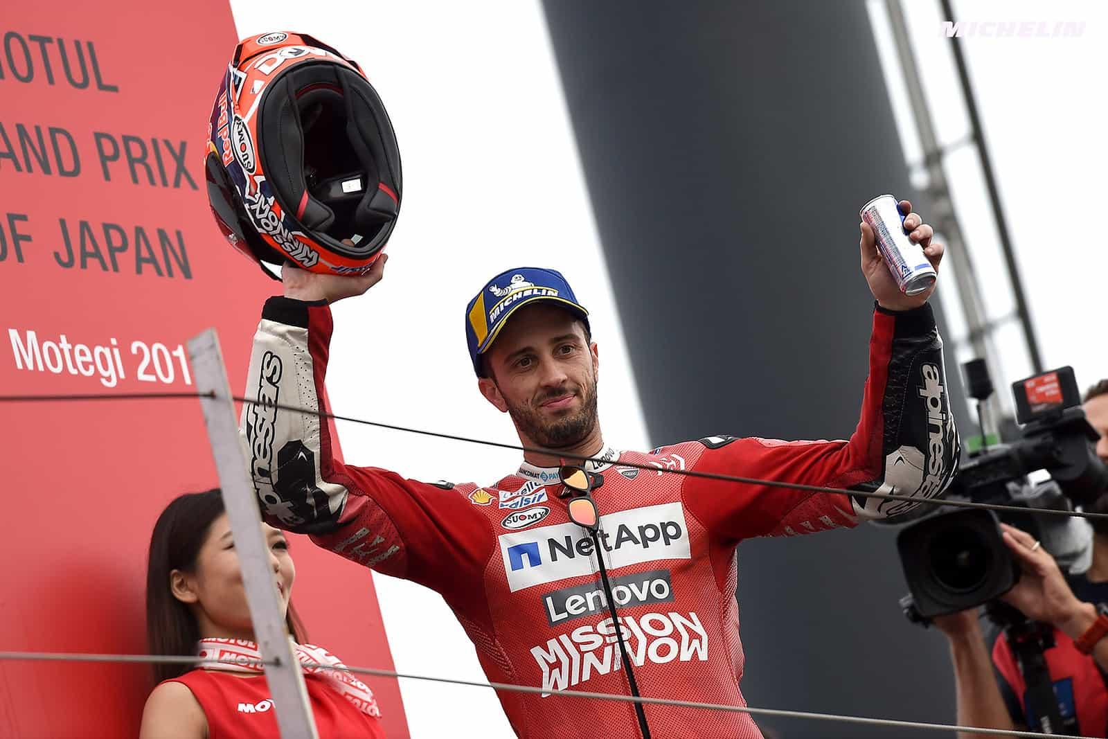 MotoGP2019日本GP 3位ドヴィツィオーゾ「グリップが良い時にタイムが出なかった」