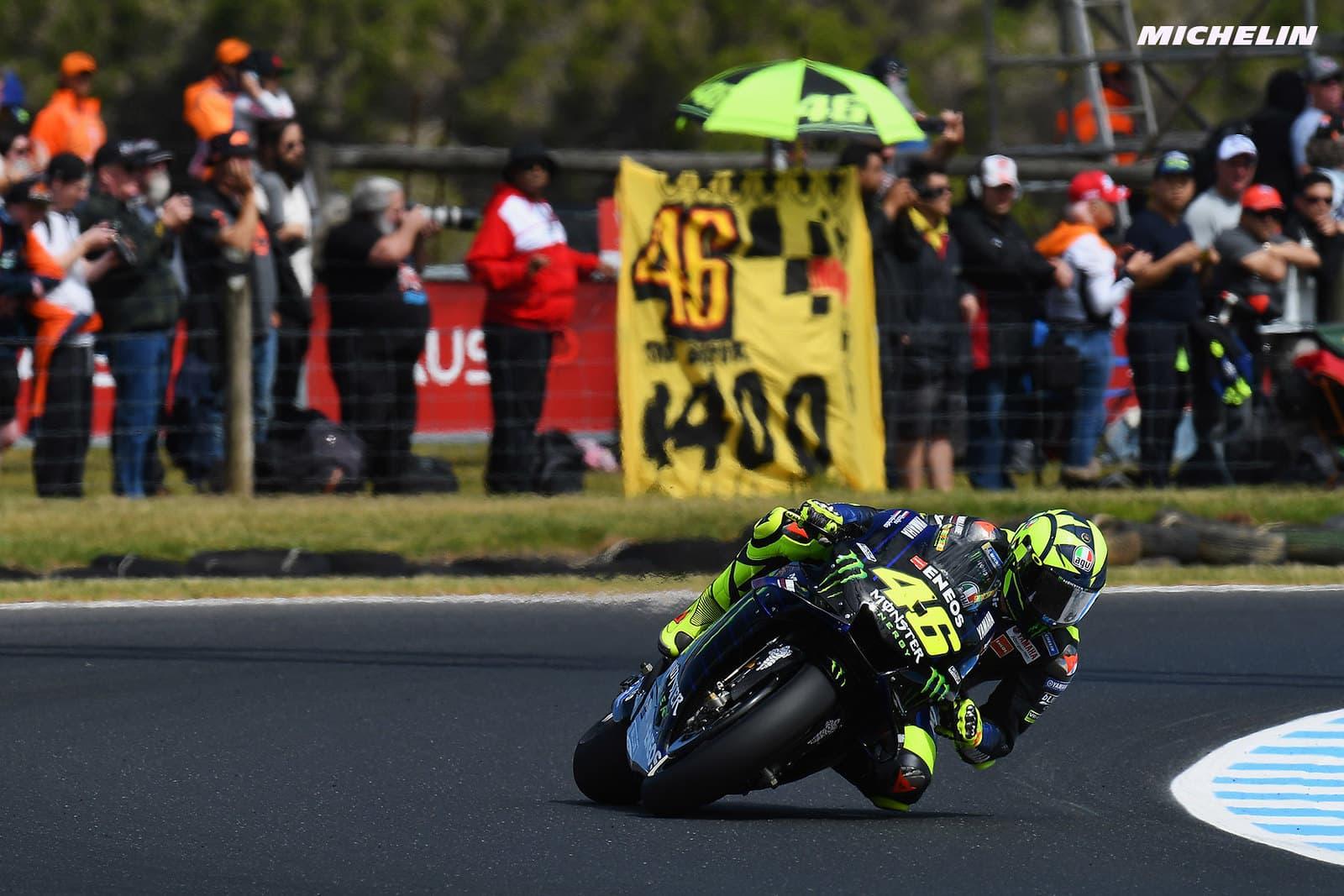 MotoGP2019オーストラリアGP 8位ロッシ「今までよりも良いライディングが出来ていた」