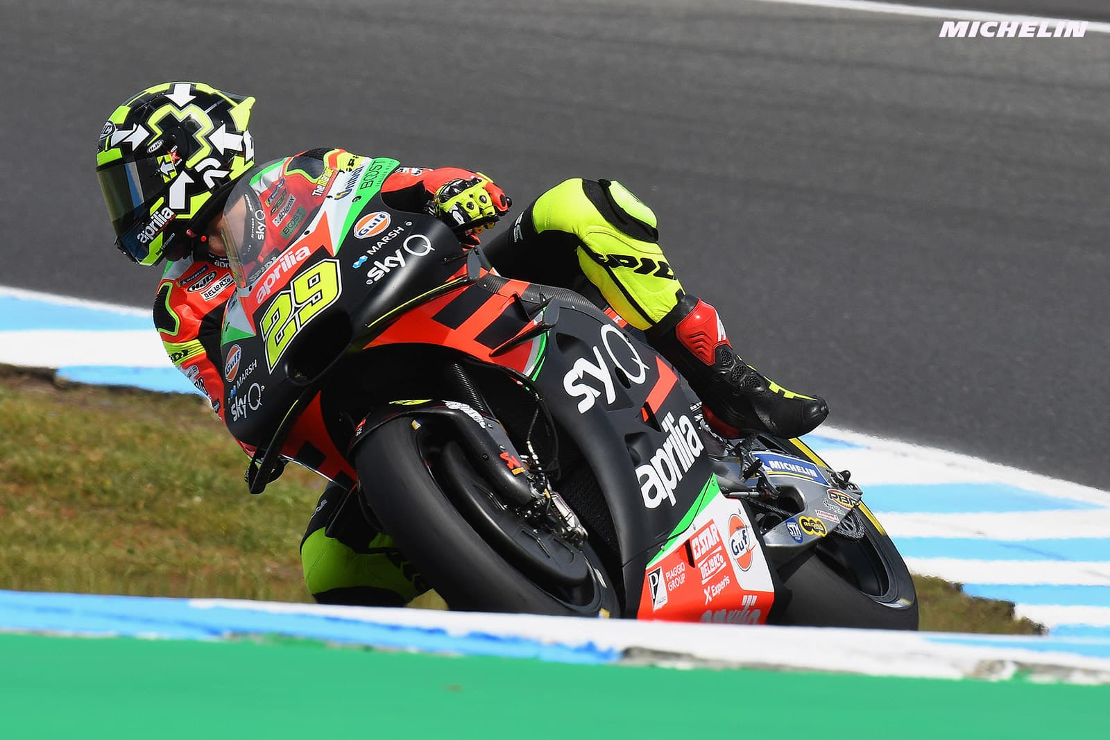 MotoGP2019オーストラリアGP 6位イアンノーネ「アプリリアでフロントを走行出来たのは最高だった」