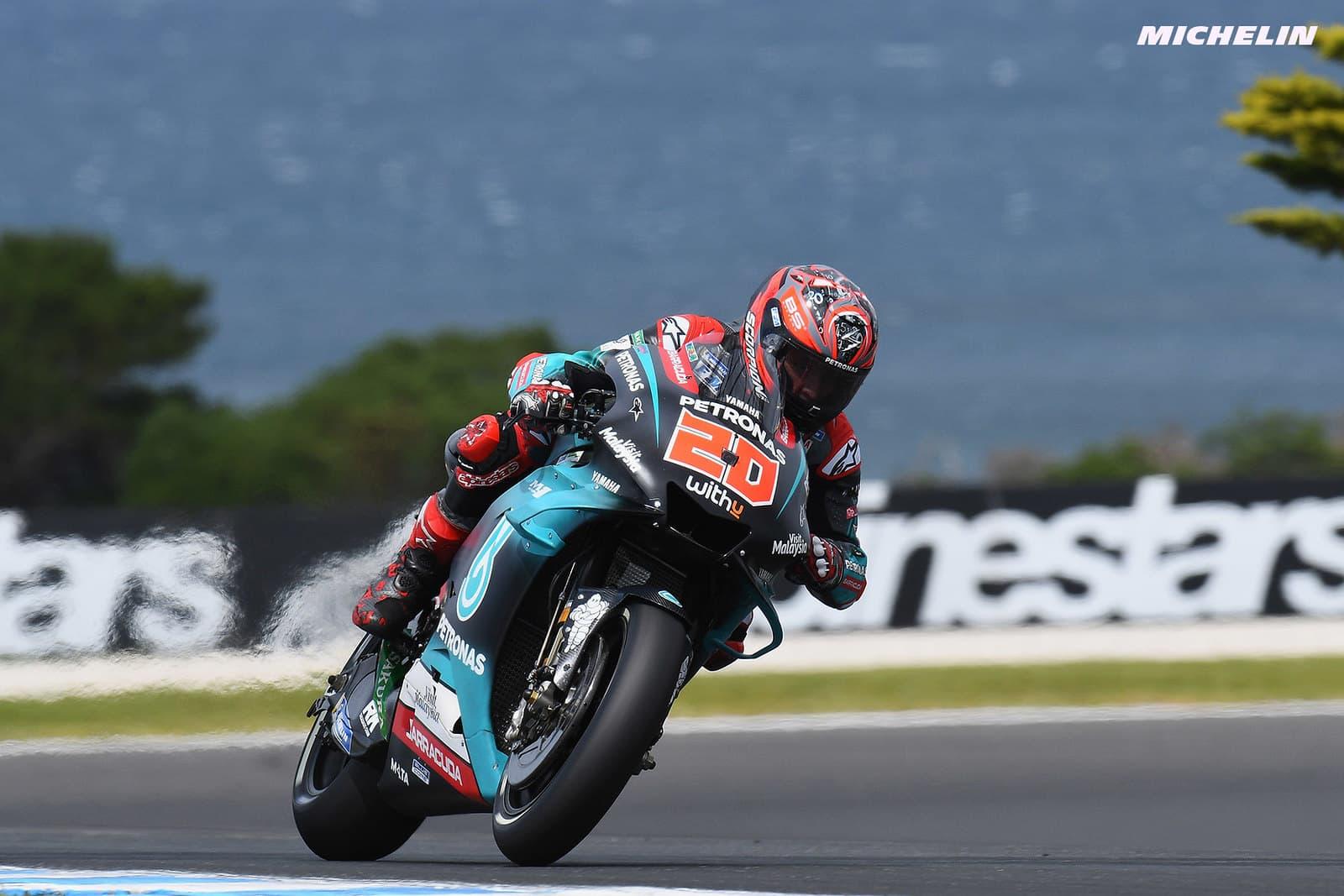 MotoGP2019オーストラリアGP クアルタラロ「ペトルッチに突っ込まれなくても難しいレースだった」