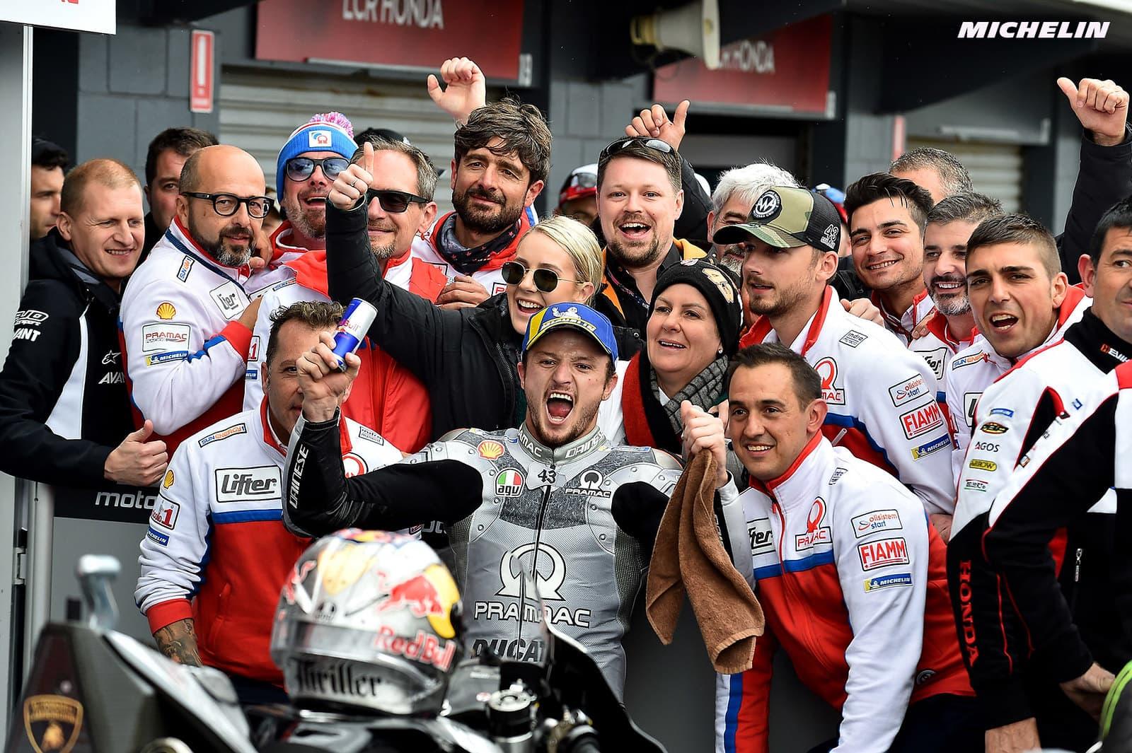 MotoGP2019オーストラリアGP 3位ミラー「誰かの転倒は望まないが、今日はこういうレースだった」