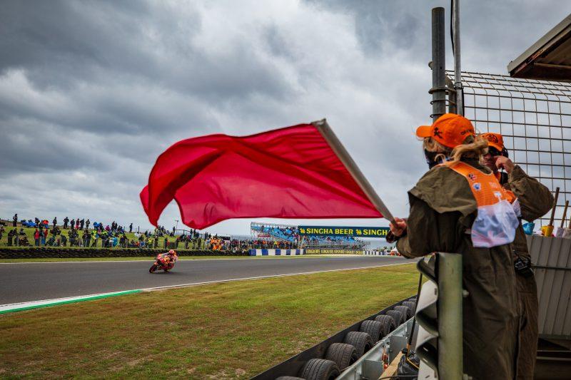 MotoGP2019オーストラリアGP マルケス「明日は忙しいが世界の終わりではない」