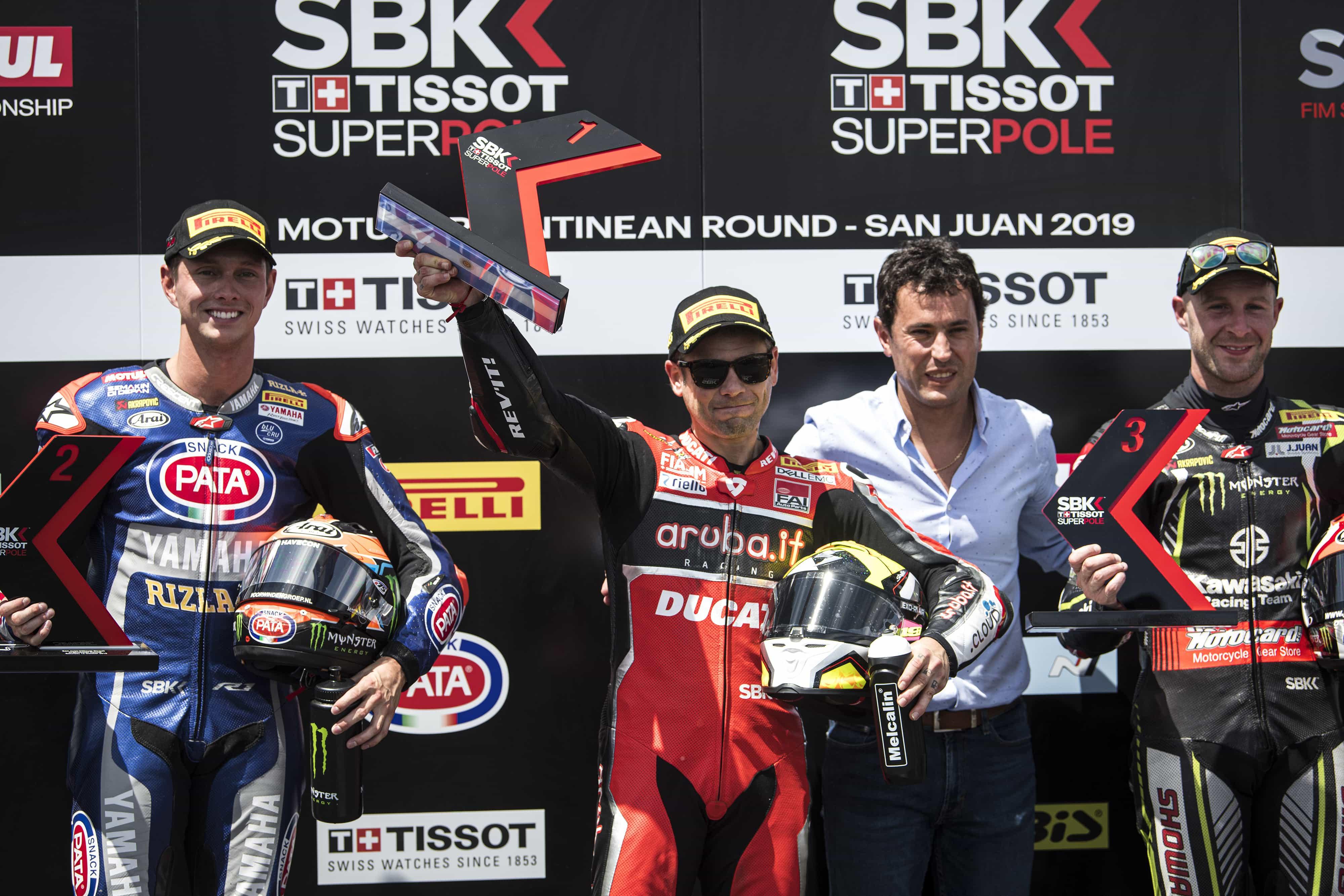 SBK第12戦アルゼンチン・ラウンドのレース1でバウティスタが優勝、デイビスはレース1に参戦しないことを決定