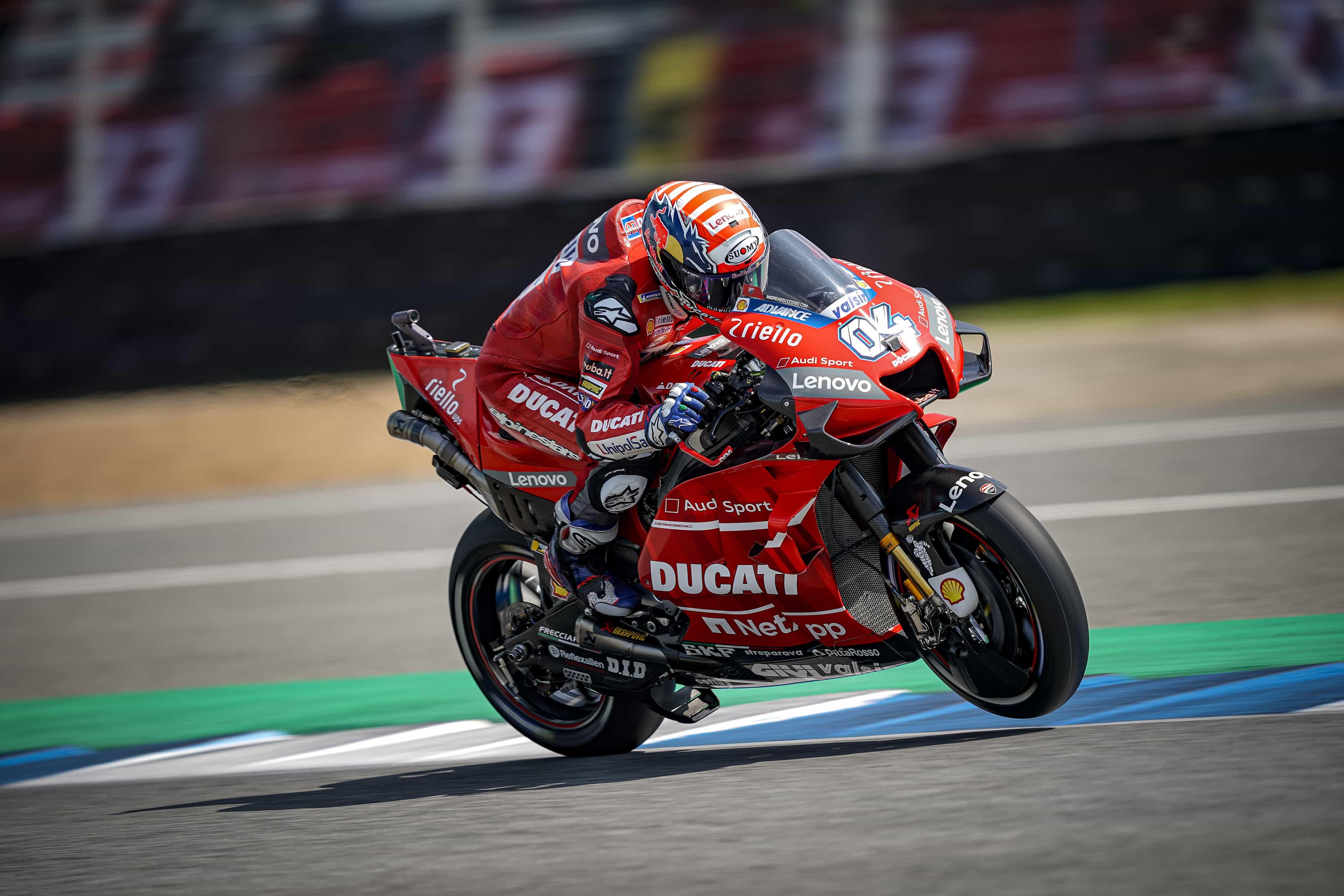 MotoGP2019日本GP ドヴィツィオーゾ「いかなるコンディションでも戦闘力を上げていくことが必要」