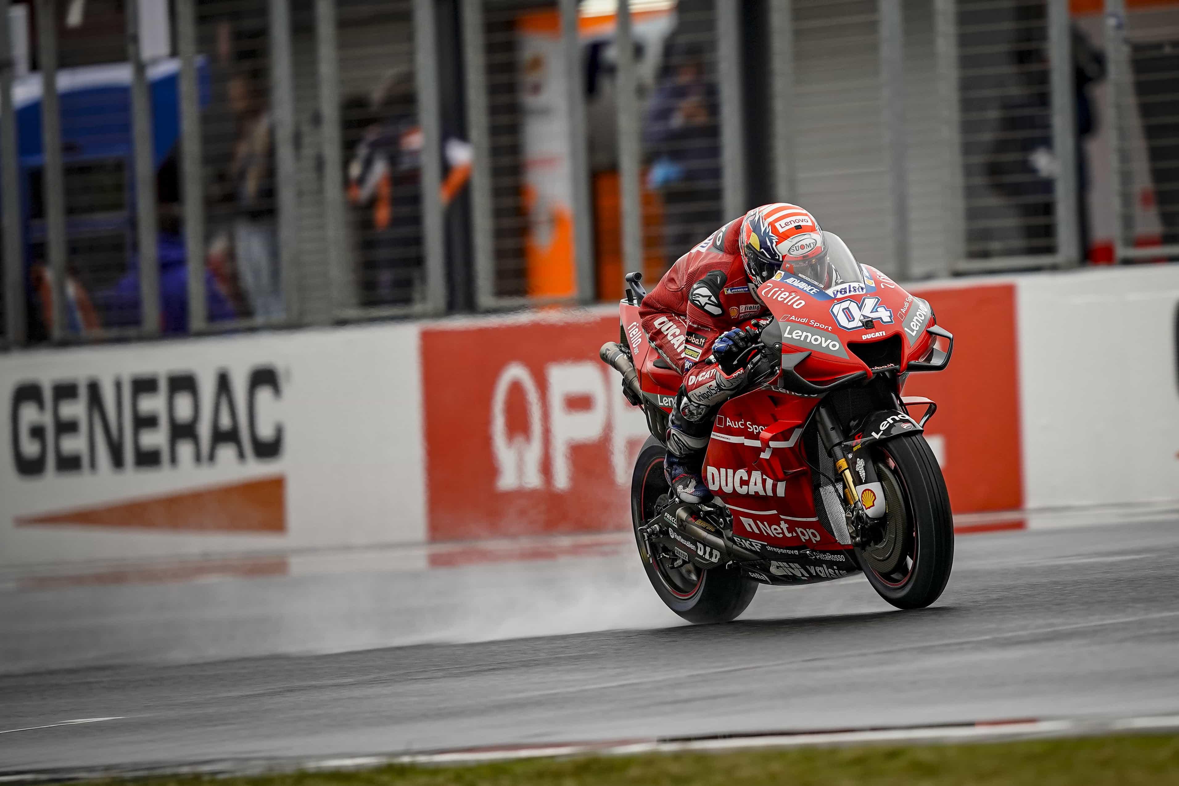MotoGP2019オーストラリアGP FP2 2位ドヴィツィオーゾ「今日2番手を獲得出来たのは良かった」