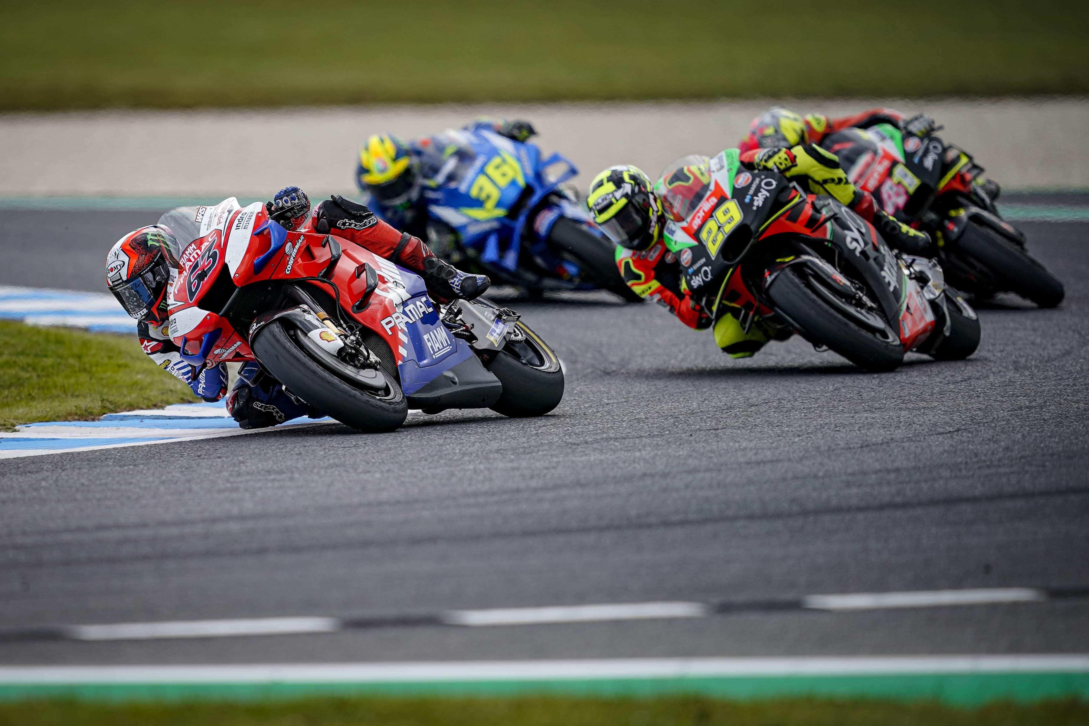 MotoGP2019オーストラリアGP 4位フランセスコ・バグナイア「表彰台獲得まであと少しだった」