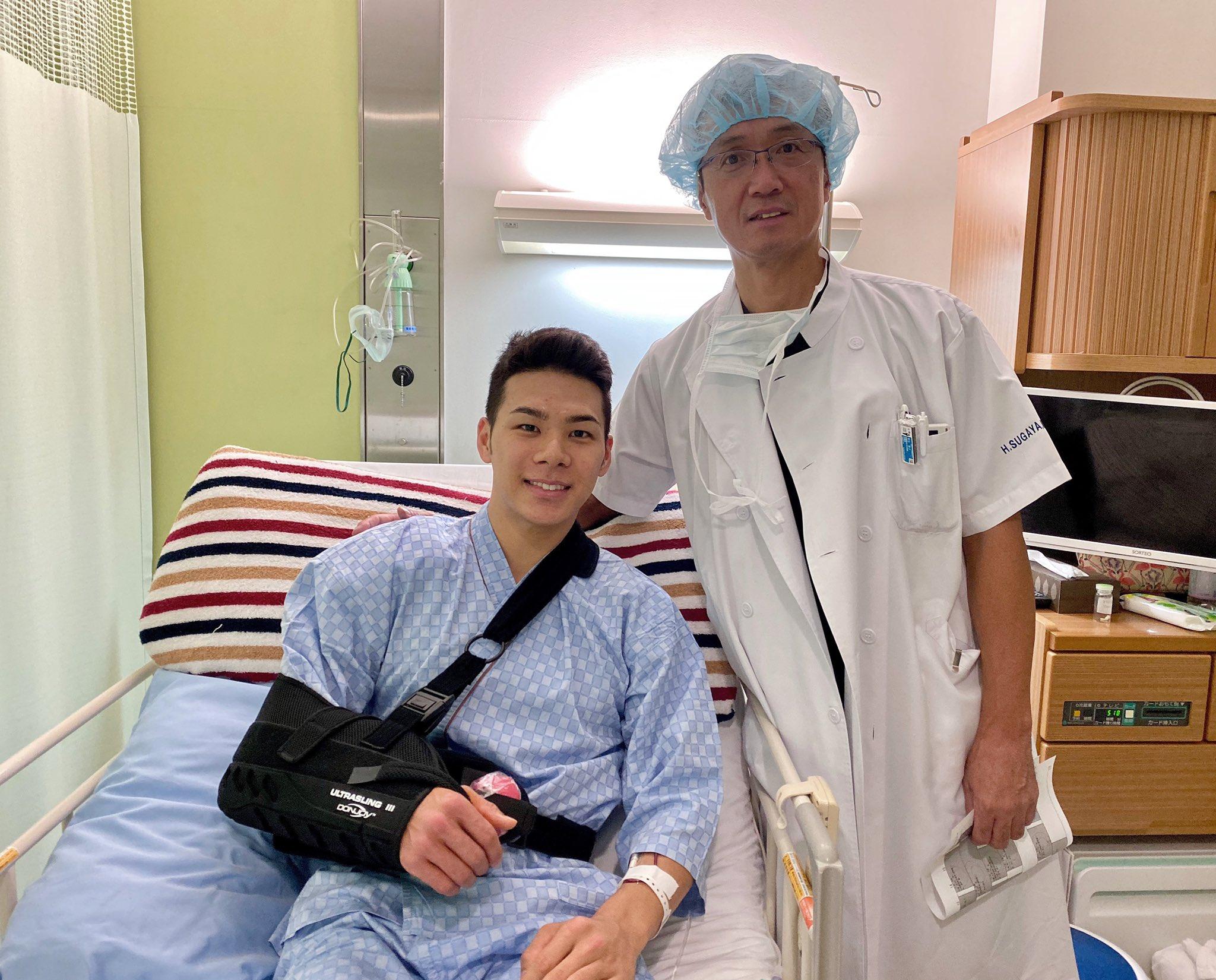 MotoGP2019 中上 アッセンで痛めた肩の手術を完了