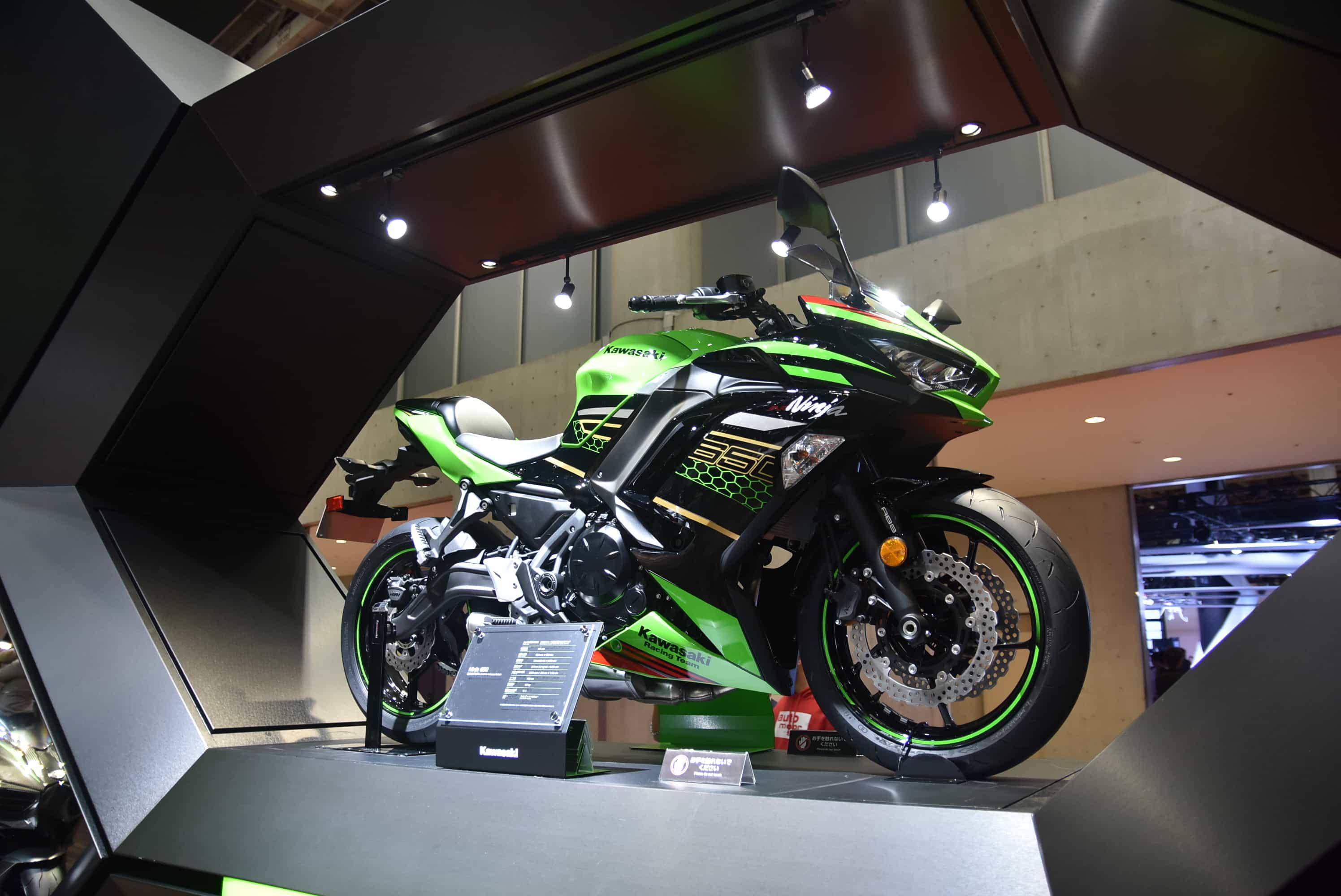 カワサキ 東京モーターショーで2020年型Ninja 650を発表