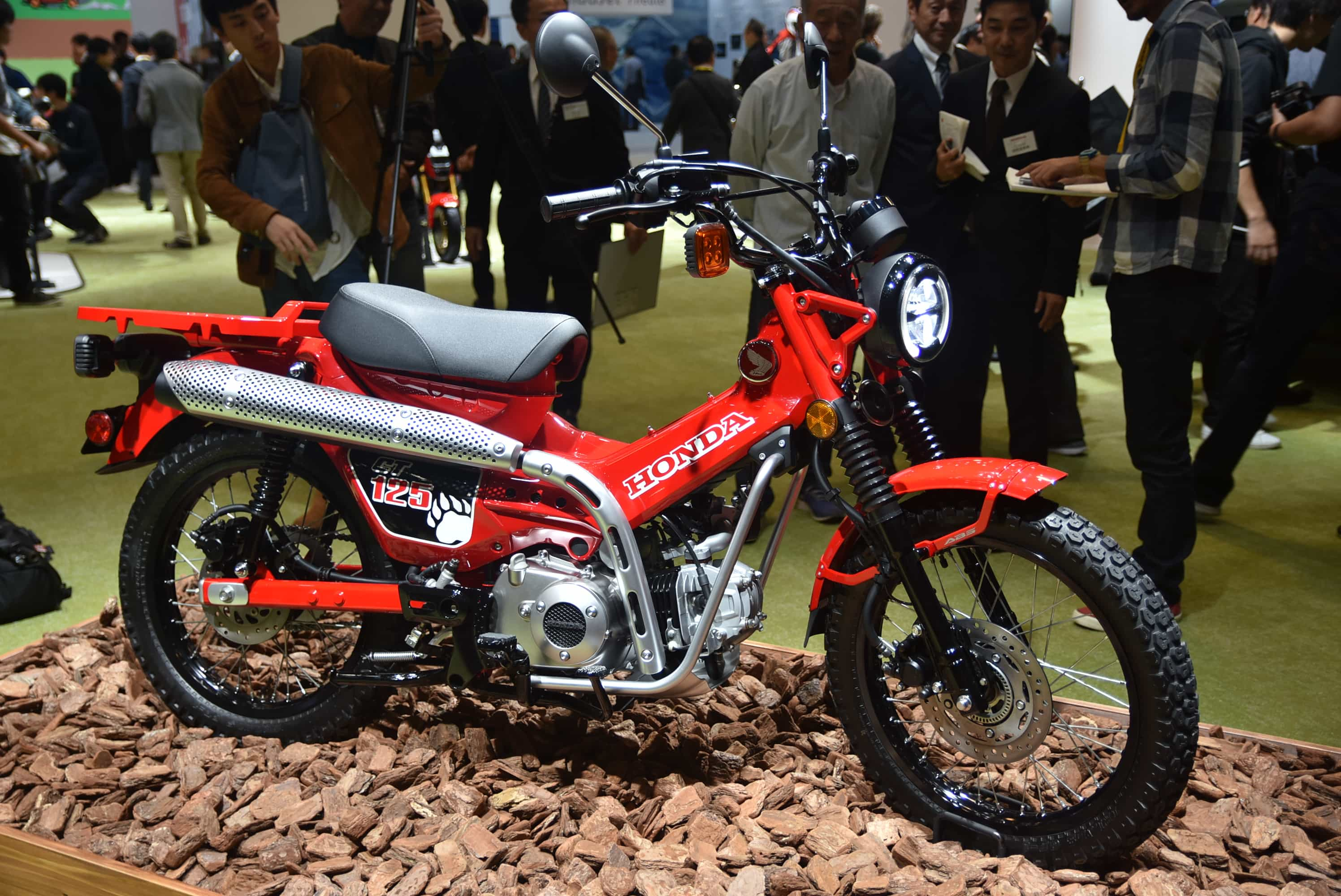 ホンダ 東京モーターショーでCT125を発表