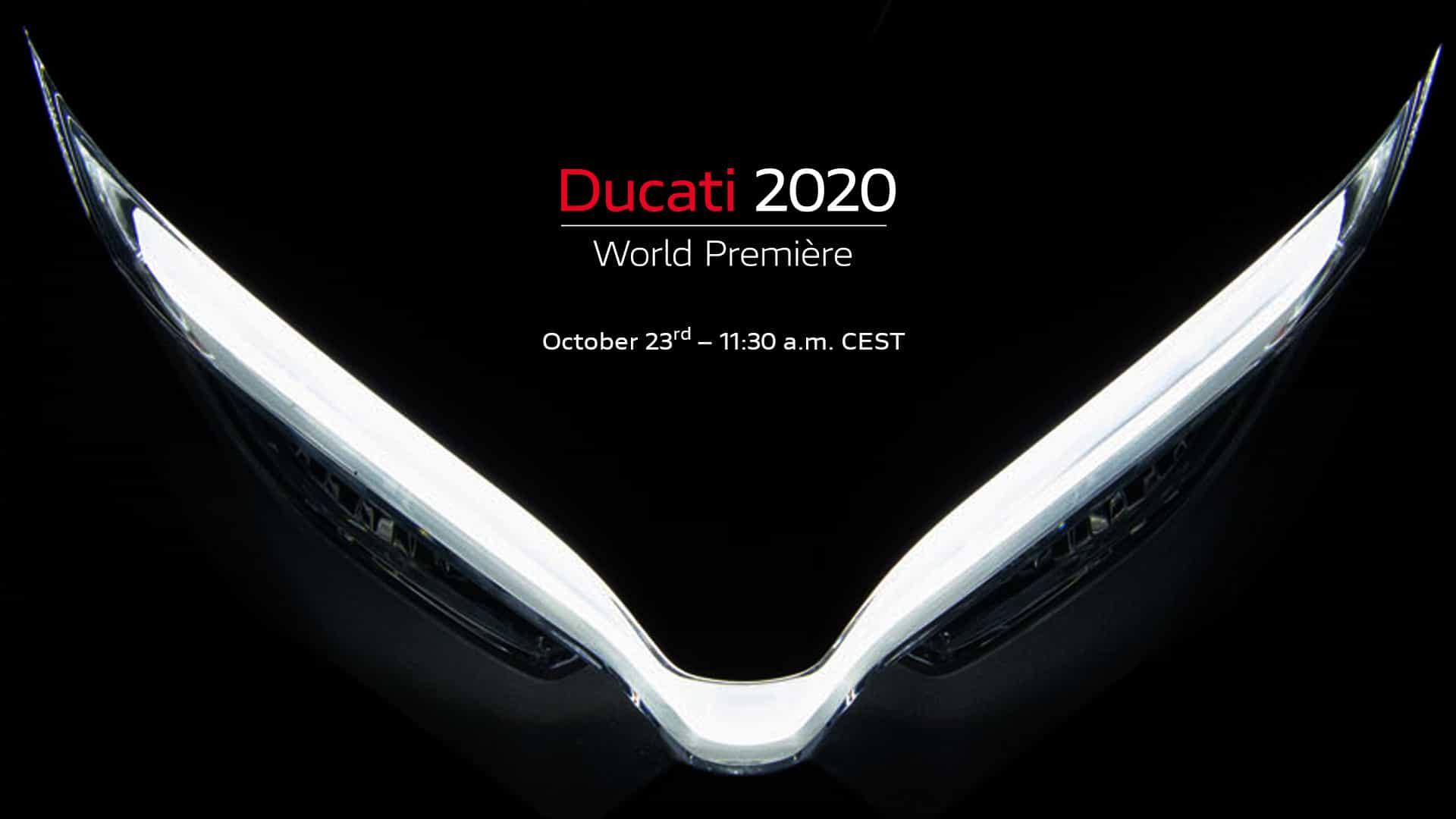 Ducati 新型モデル発表の舞台 Ducatiワールドプレミアは10月23日
