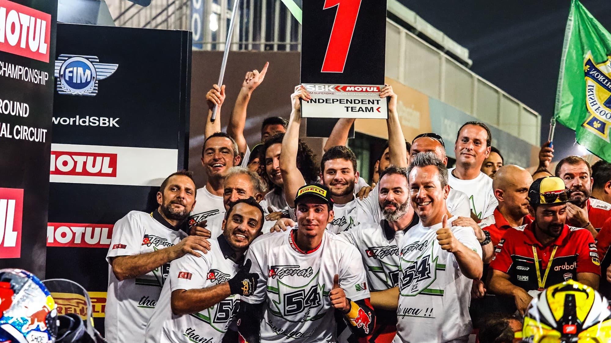 SBK最終戦カタール トプラック・ラズガトリオグル「Puccetti Racingとの別れは悲しい」