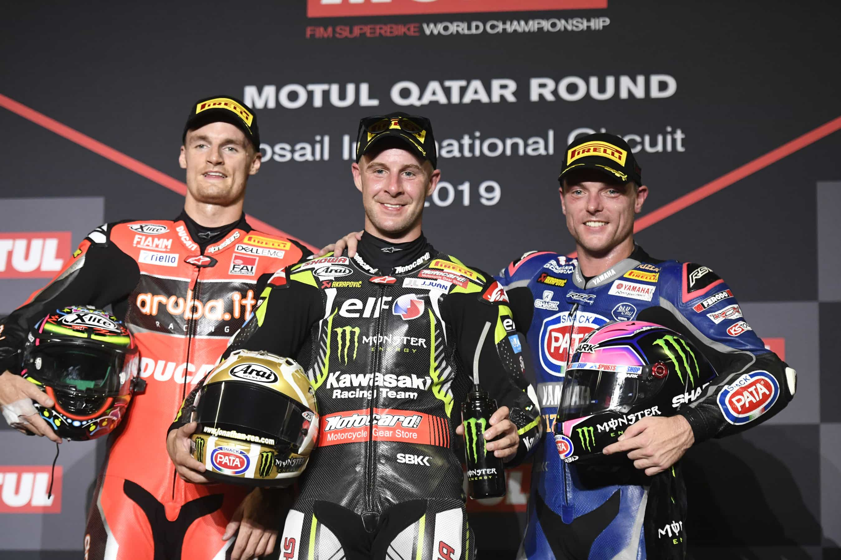 ピレリ(Pirelli) レースレポート SBKカタールのレース1でジョナサン・レイが優勝