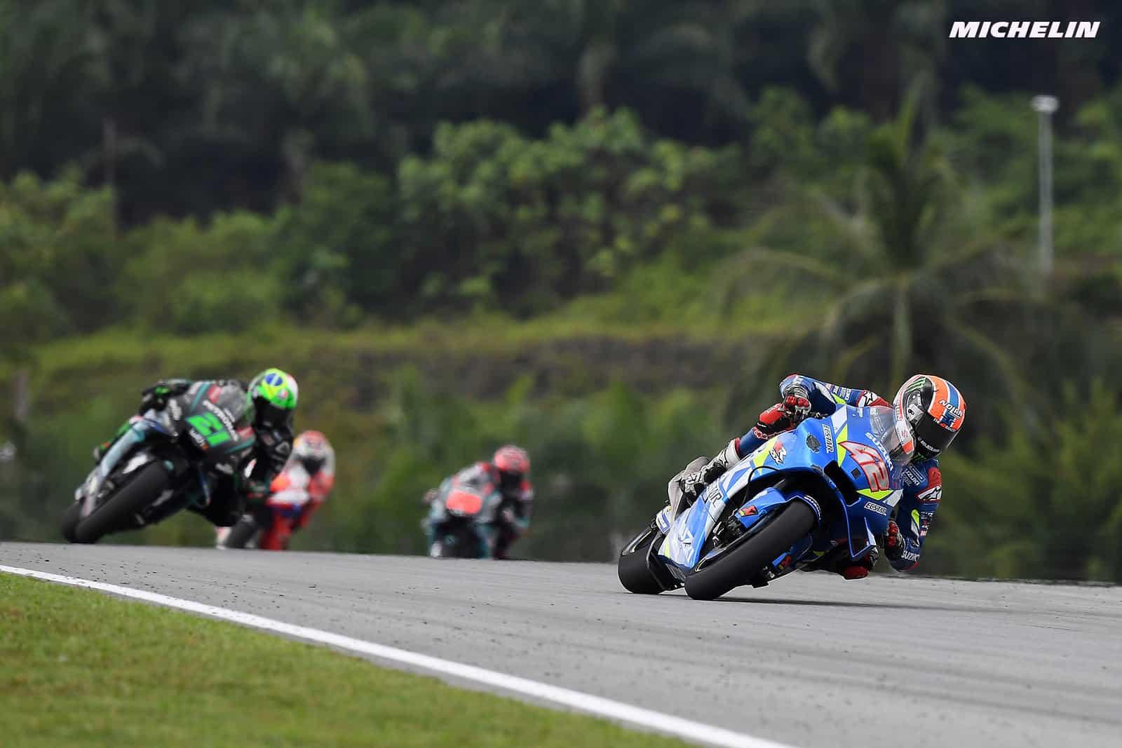 MotoGP2019マレーシアGP 5位リンス「ロッシとドヴィツィオーゾを抜くことが出来なかった」