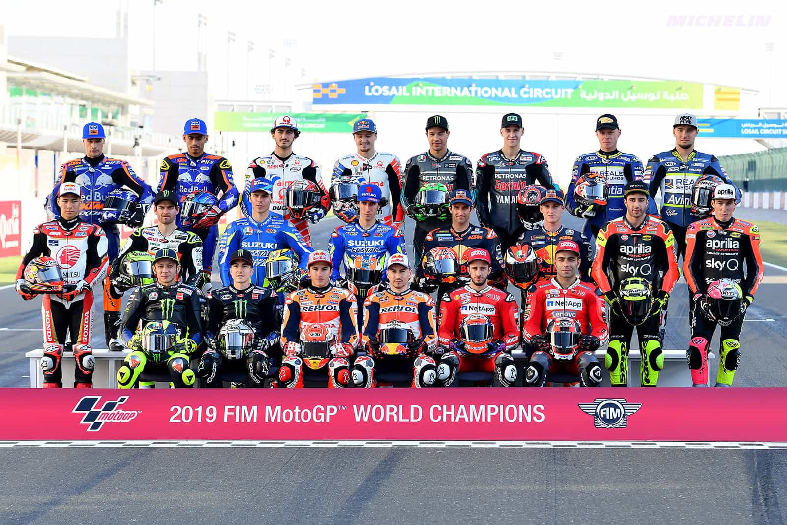写真で振り返るMotoGP2019年シーズン カタールGP