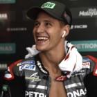 ファビオ・クアルタラロ「来年は全レースで表彰台争いをすることが目標」