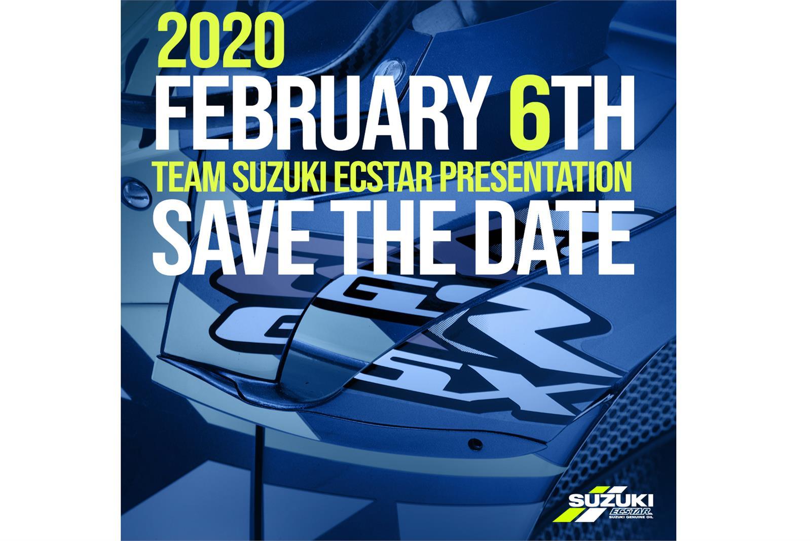 Team SUZUKI ECSTAR 2020年体制をセパンにおいて2月6日に発表