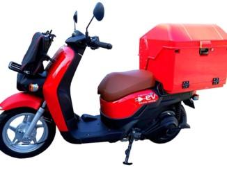 日本郵便 Honda製電動二輪車「BENLY e:(ベンリィ イー)」の導入