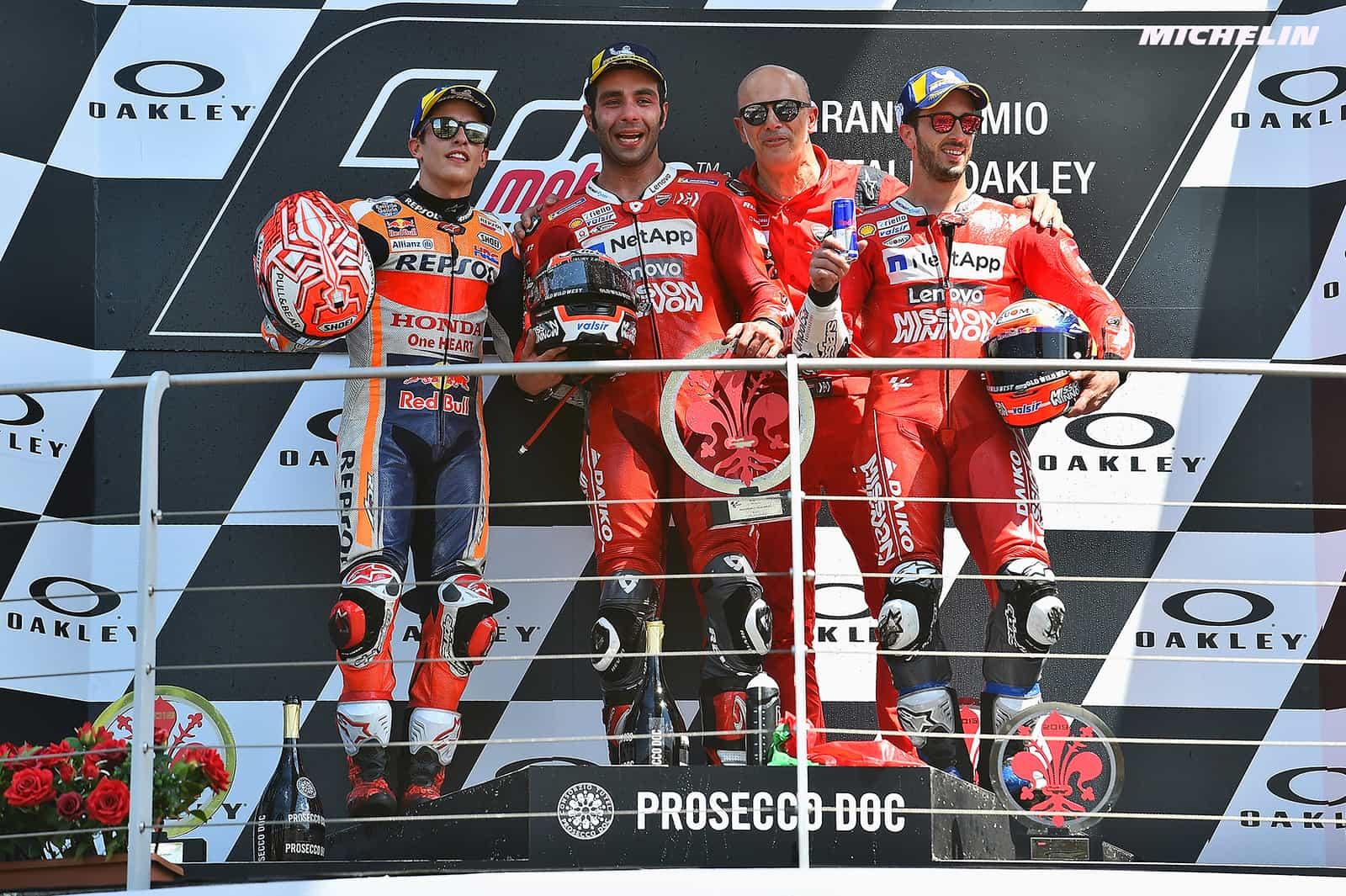 写真で振り返るMotoGP2019年シーズン 第6戦イタリアGP