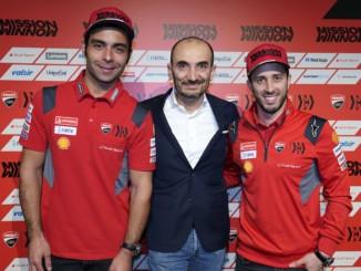 Mission Winnow Ducati Team チーム体制を発表