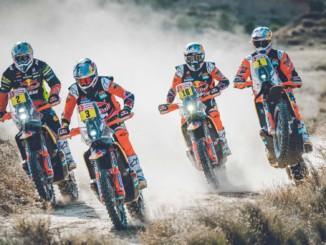 KTMレッドブル・ファクトリーレーシングチーム 2020年のダカール・ラリーに向けて準備は万端