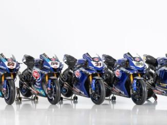 スーパーバイク世界選手権(SBK)に参戦するヤマハの3チーム