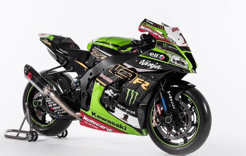 Kawasaki Racing Team WorldSBK 2020年のカラーリングを披露