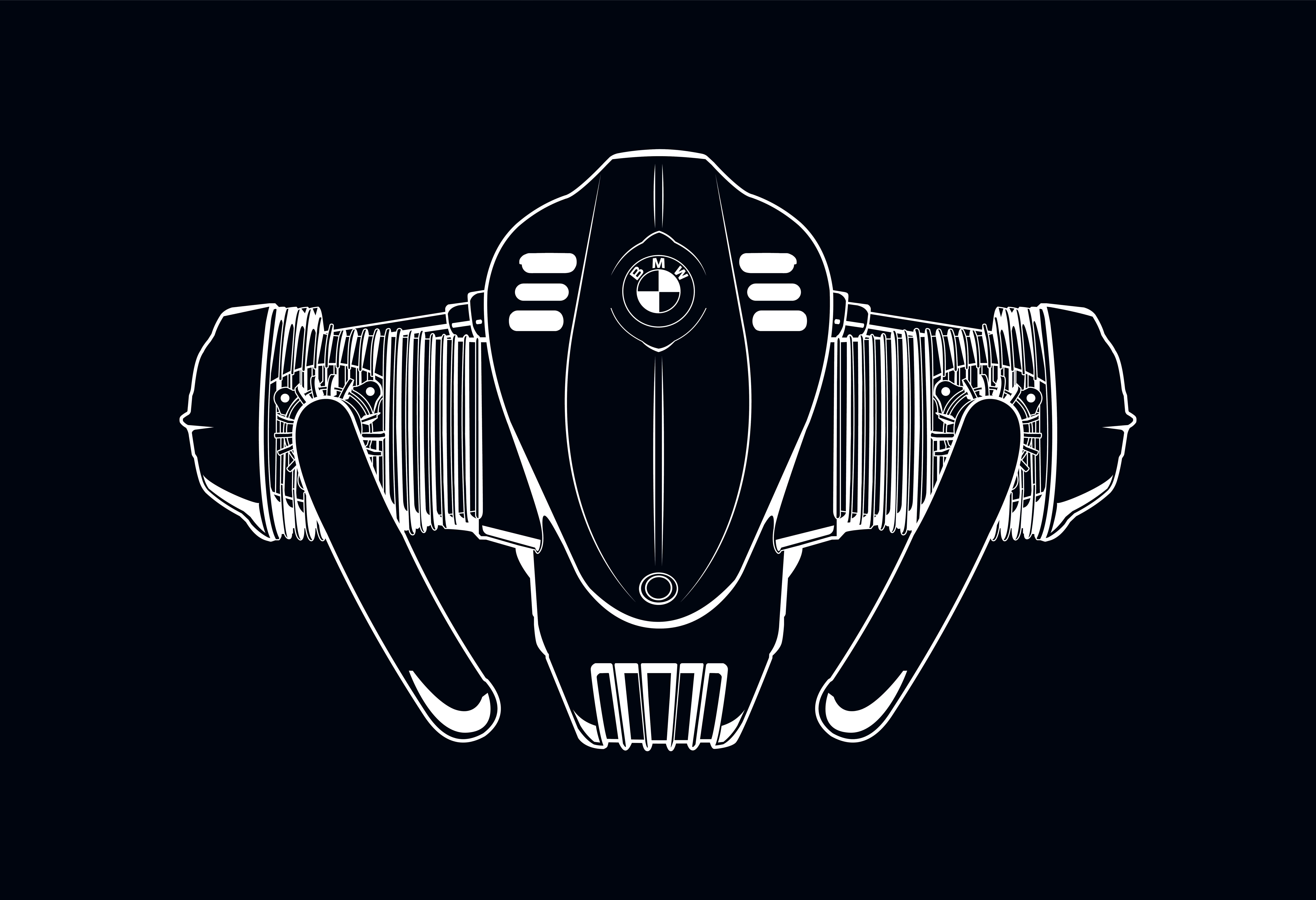 BMWは大排気量水平対向エンジンが最大の特徴となるBMW R 18の量産を発表。
