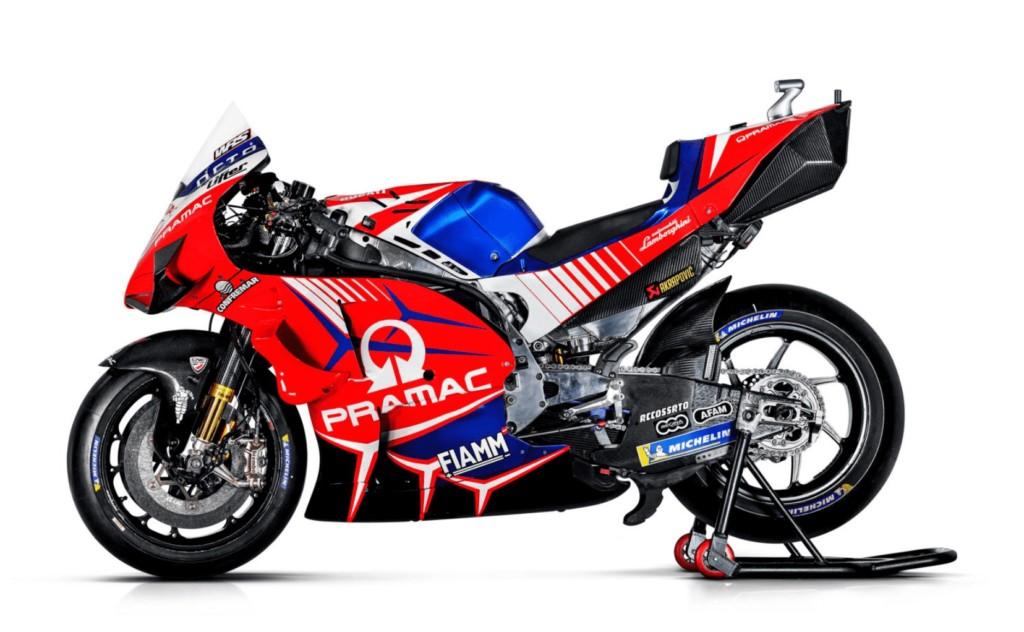 Pramac Racing 2020年のカラーリングを披露