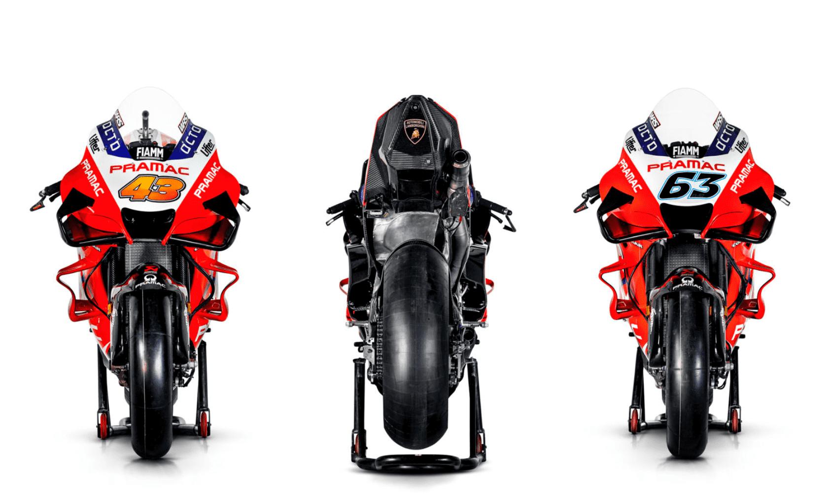 Pramac Racing 2020年のデスモセディチGPのカラーリングを披露