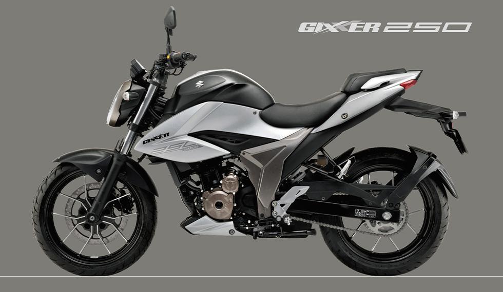 スズキはモーターショーにおいて発表したロードスポーツモデル、ジクサー250を発表。
