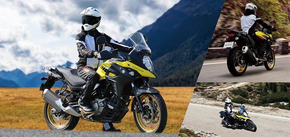 Vストローム650XT ABS / Vストローム650 ABSをカラーリング変更して登場
