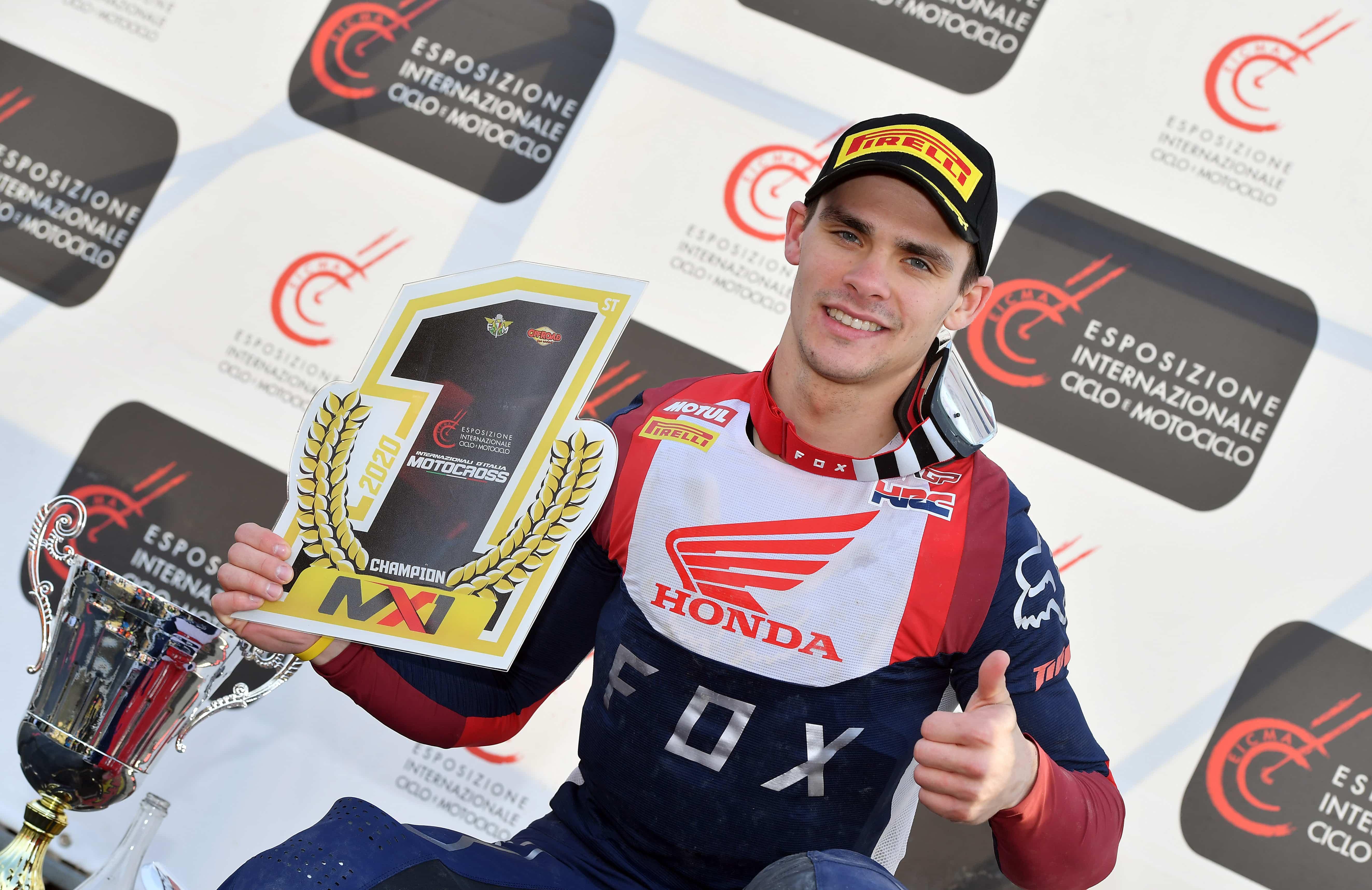 モトクロスイタリア選手権 最終戦でティム・ガイザーがMX1チャンピオンシップで優勝