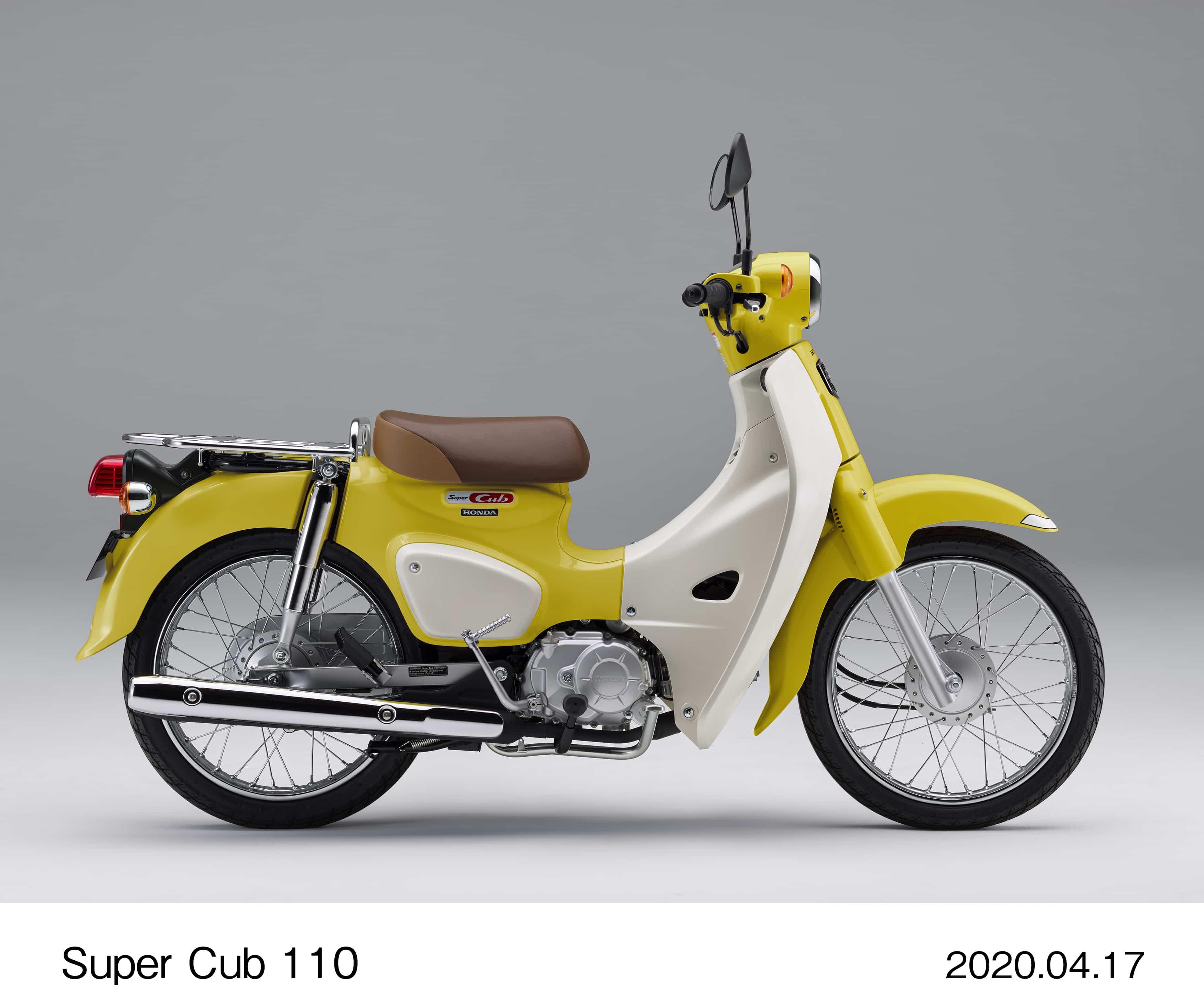 ホンダ スーパーカブ110に新色を追加、クロスカブ110を6月19日に発売