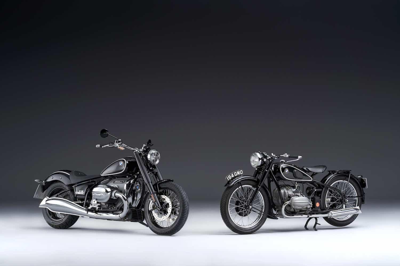 BMW Motorrad 新型BMW R18と1936年製BMW R5のツーショットを公開