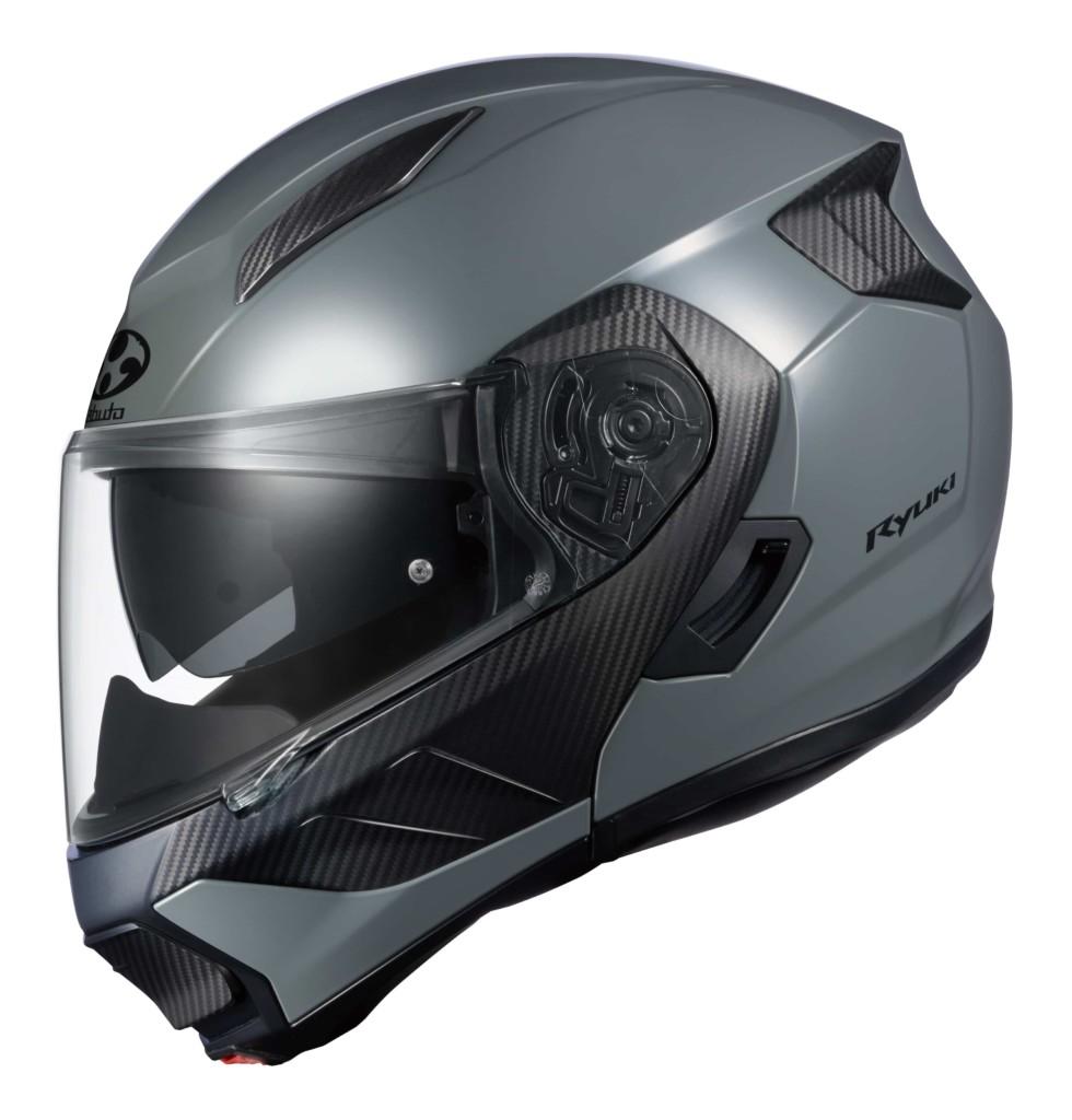 オージーケーカブト IRカットシールドを採用した、軽量新世代システムヘルメット「RYUKI(リュウキ)」を発売