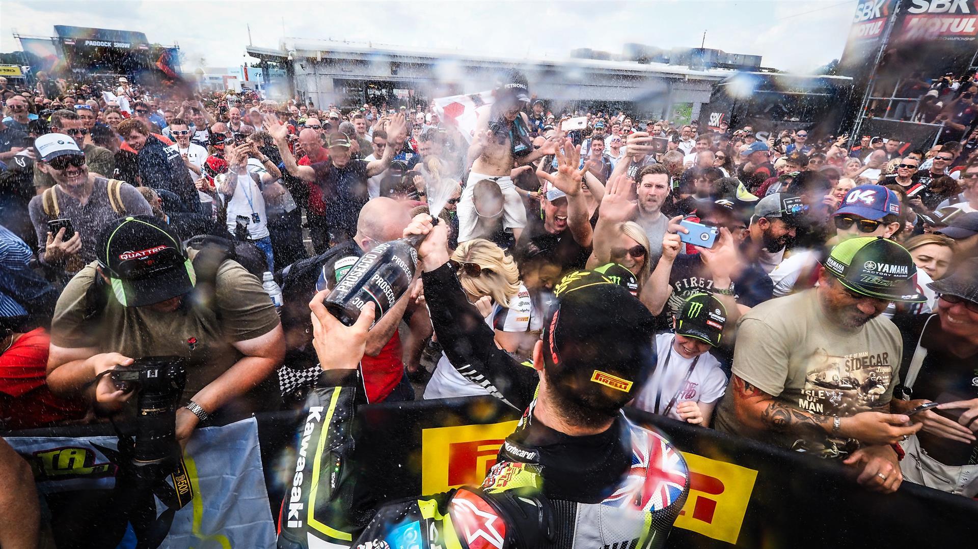 FIM スーパーバイク世界選手権(SBK)オーシャースレーベン戦が中止