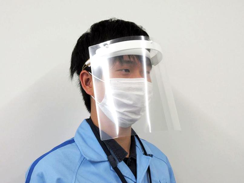 ヤマハ発動機 医療現場向けにフェイスシールドと除菌洗浄水の製造を決定