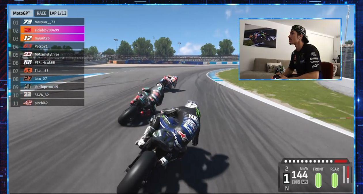 MotoGPバーチャルレース3優勝 マーべリック・ビニャーレス「優勝出来るなんて思っていなかった」