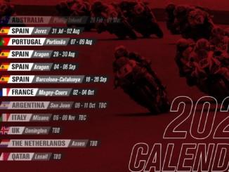 FIM スーパーバイク世界選手権(SBK) 2020年の新カレンダーを発表