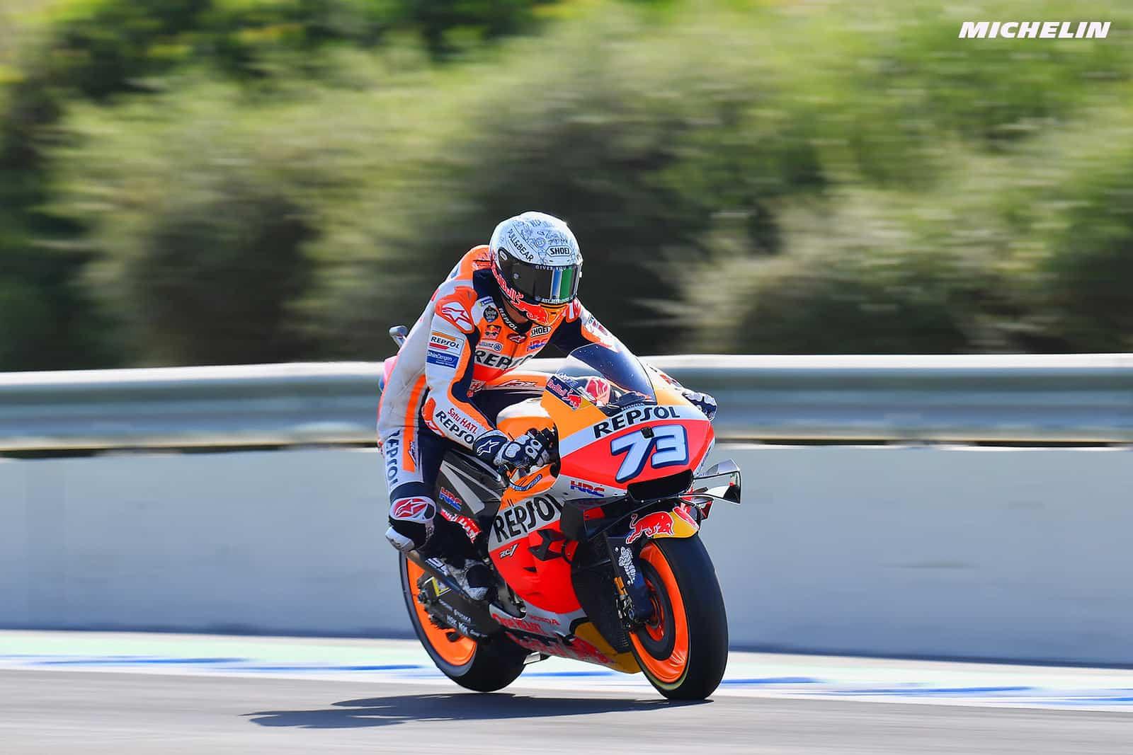 スペインGP 12位アレックス・マルケス「序盤と終盤の走行に集中する必要がある」