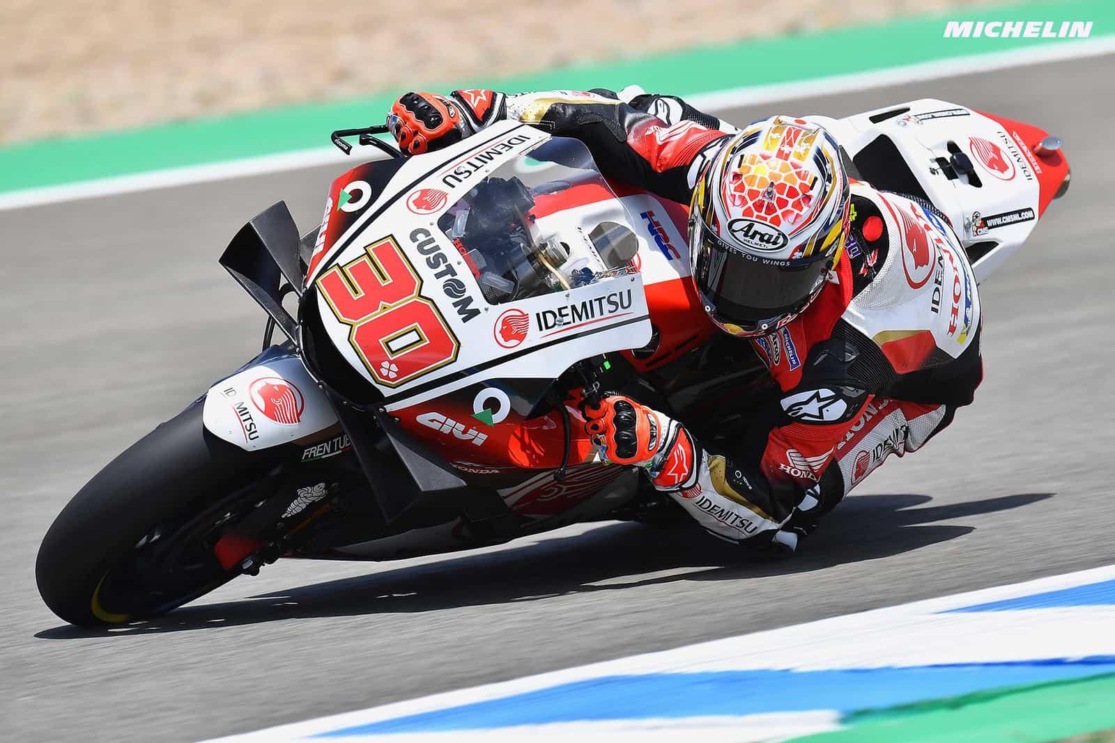 スペインGP 10位中上 貴晶「とにかく自分のレースに集中していた」