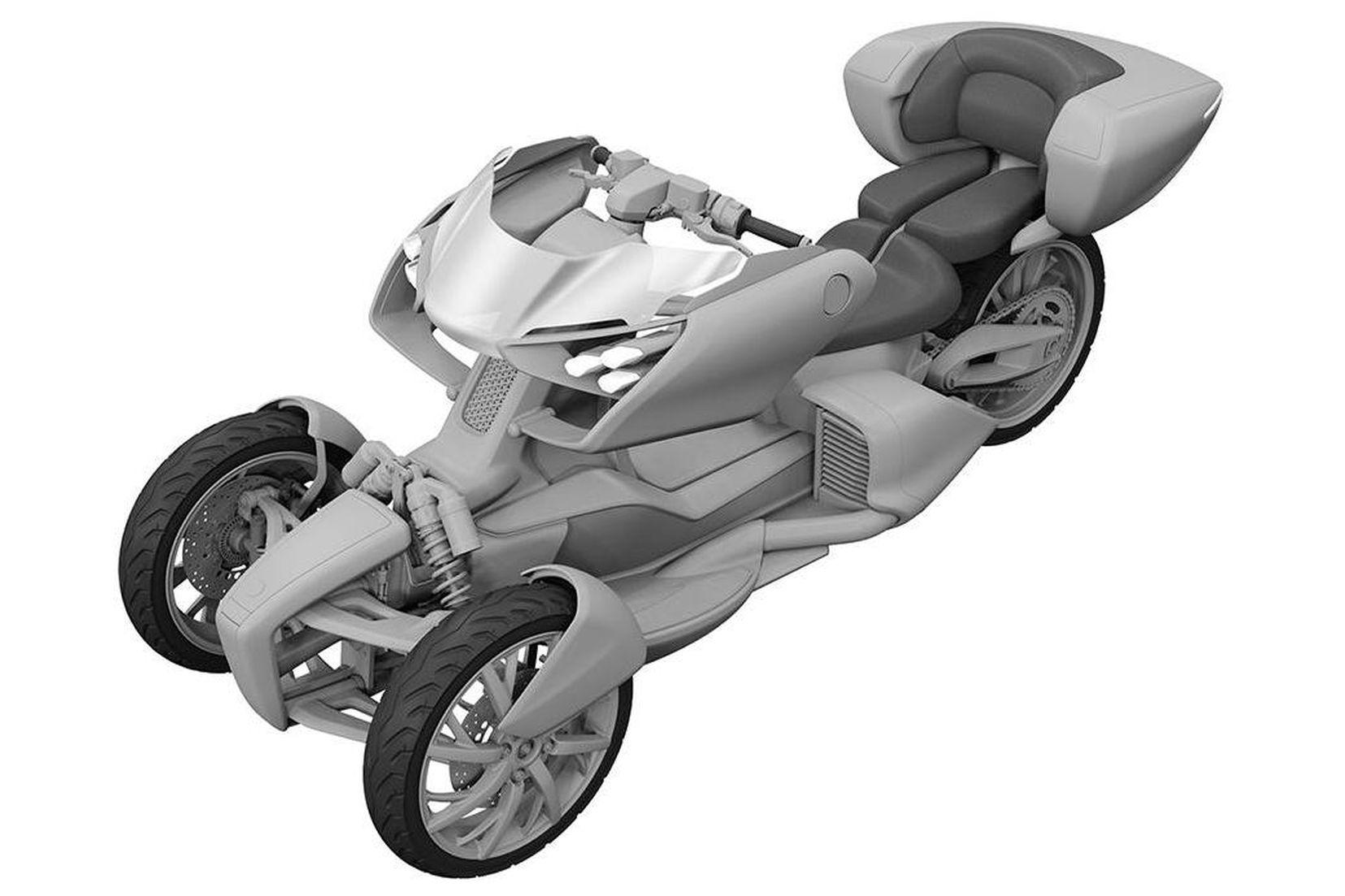 ヤマハ 新たなLMWのデザインパテントを特許庁に出願