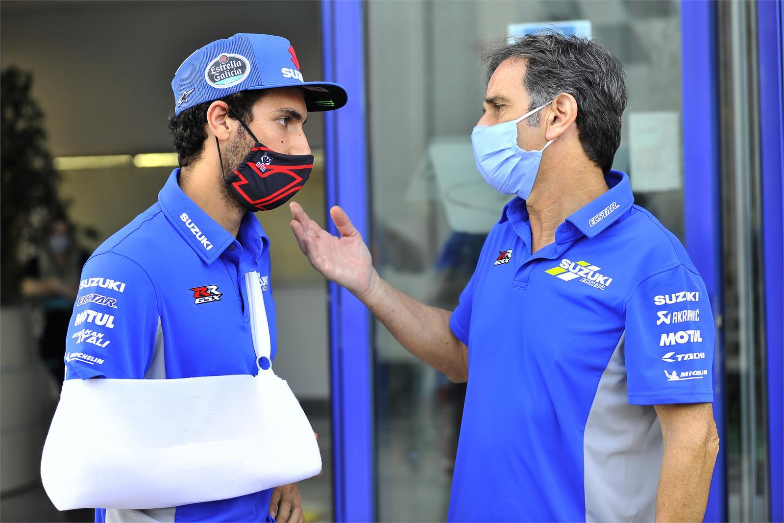 MotoGPスペインGP 怪我により、アレックス・リンスは今週末のレースを欠場