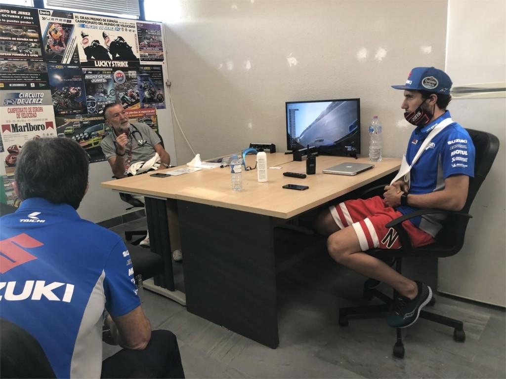 MotoGPスペインGP 怪我によりアレックス・リンスは今週末のレースを欠場