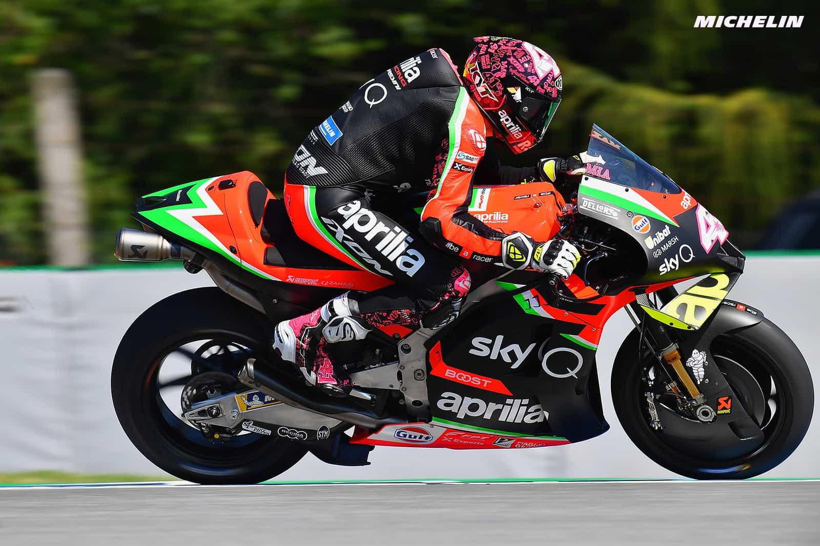 MotoGPポルティマオテスト 初日トップはアレイシ・エスパルガロ