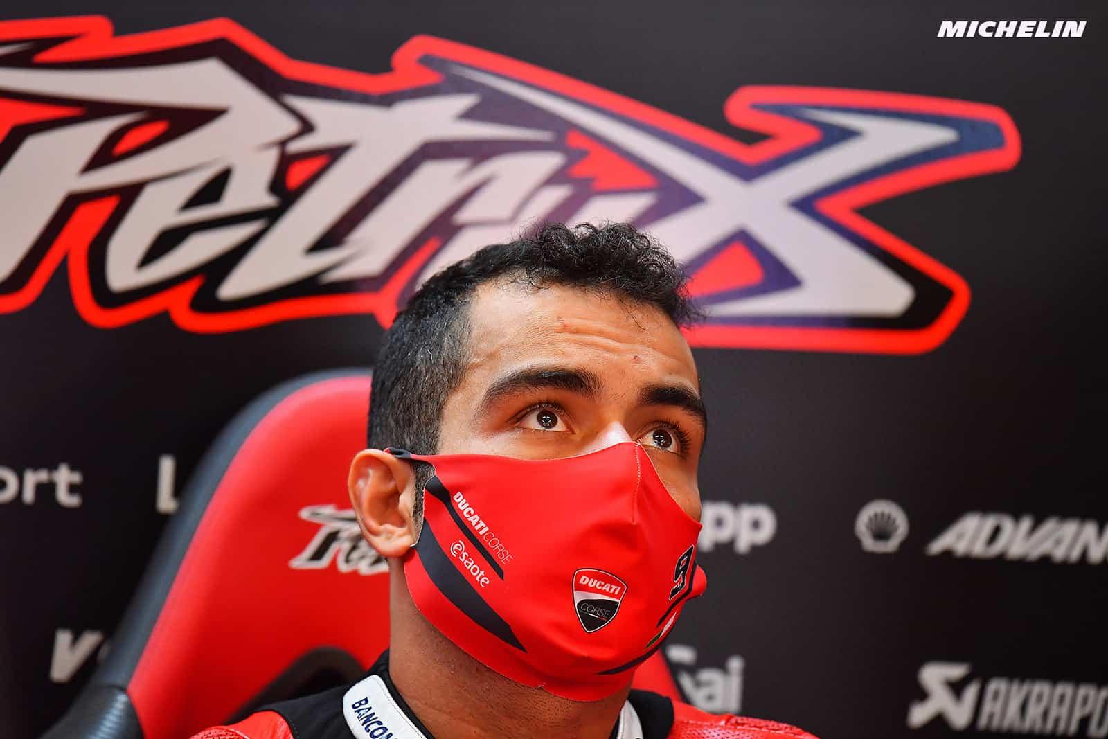 MotoGP2021 ダニーロ・ペトルッチ 「KTMで最速ライダーになりたい」
