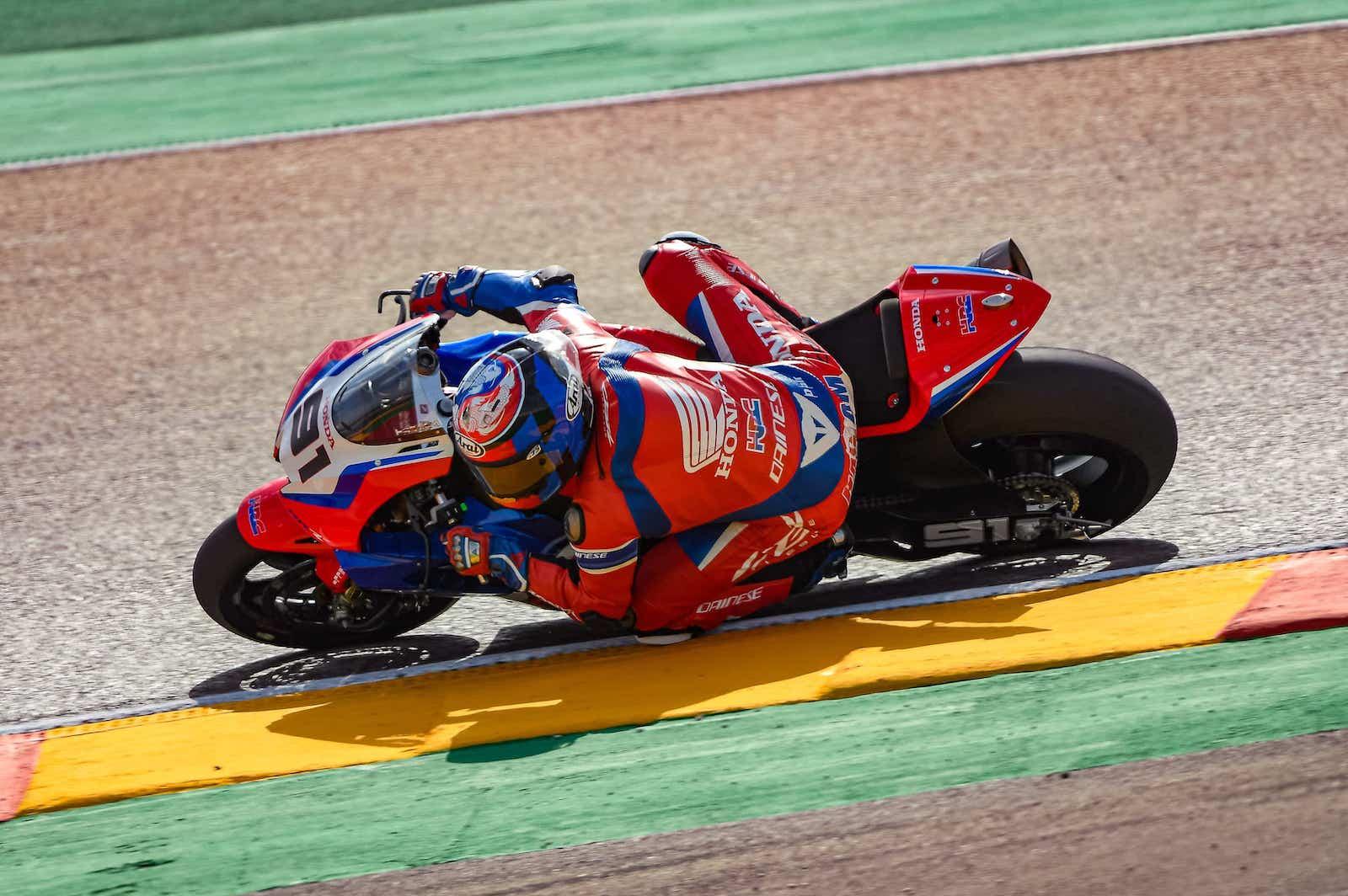 スーパーバイク世界選手権(SBK)テルエル戦 レオン・ハスラム「表彰台獲得は可能だと感じている」