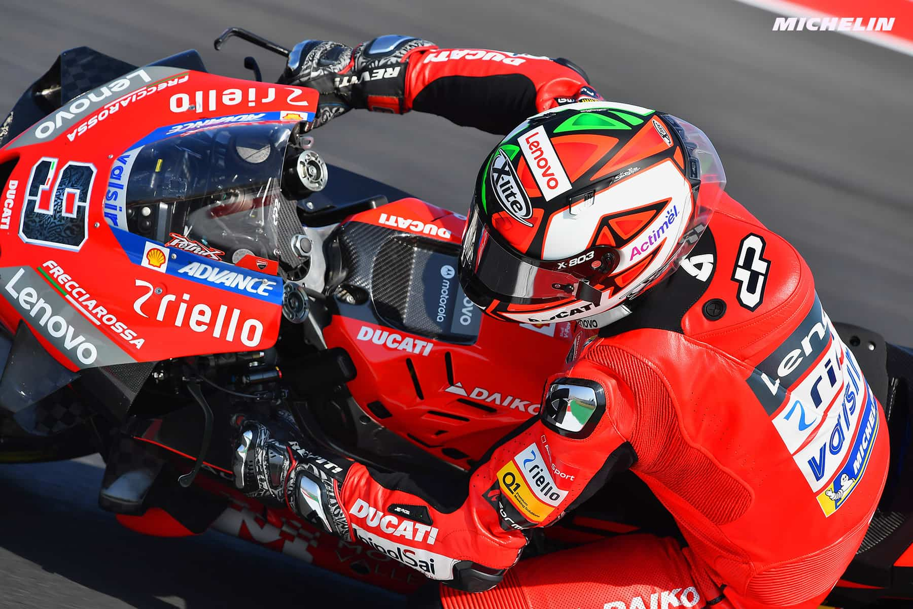 MotoGP2020エミリア・ロマーニャGP 初日総合9位 ダニーロ・ペトルッチ「バイクに対して自然体で挑むことを意識した」