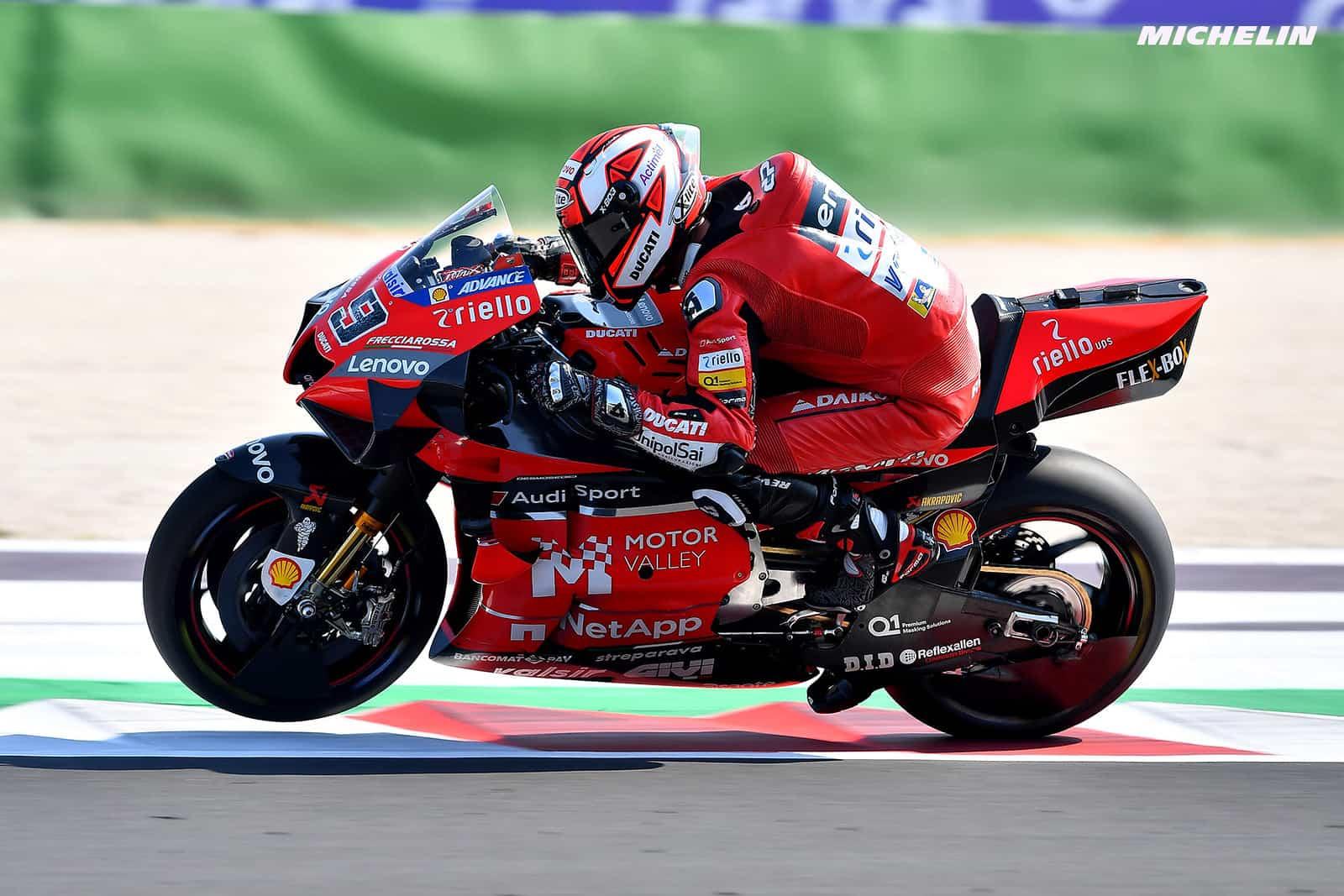 エミリア・ロマーニャGP 予選9位ダニーロ・ペトルッチ「リアタイヤの選択をしっかり考える必要あり」